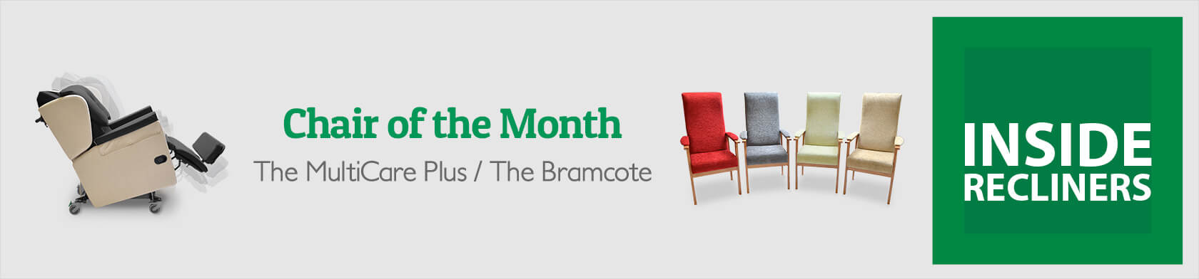 Chair of the Month – The MultiCare Plus / The Bramcote