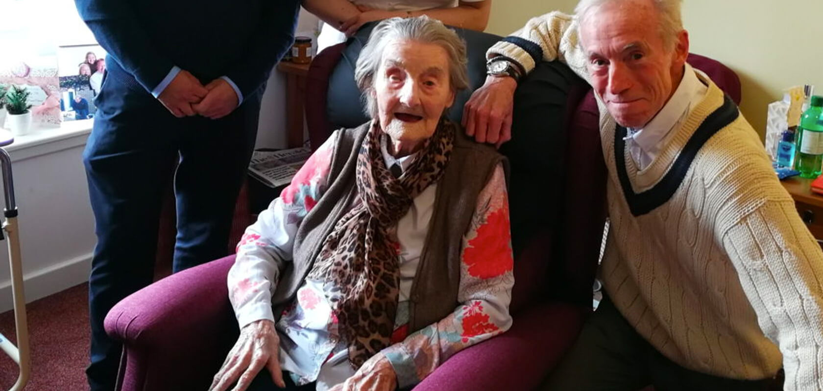 Recliners Chair Gifted to Scotland's Oldest Woman