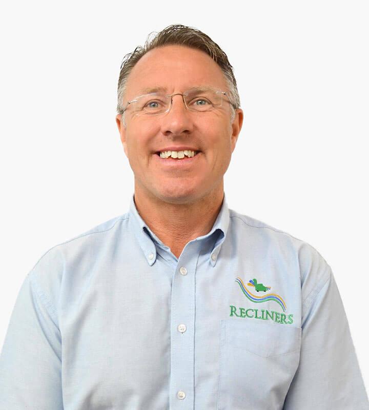 John Davies, Managing Director, Recliners